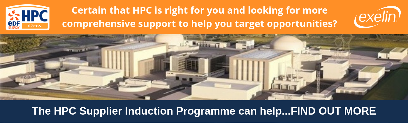 Link to Hinkley Point C Supplier Induction Programme information