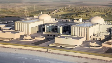Artists image of Hinkley Point C as it should look when finished