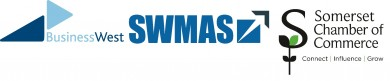 Busines West SWMAS Somerset Chamber of Commerce logo banner
